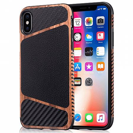 iPhone-X-Xs-Holz-Silikon-Leder-Cover-Braun.jpeg
