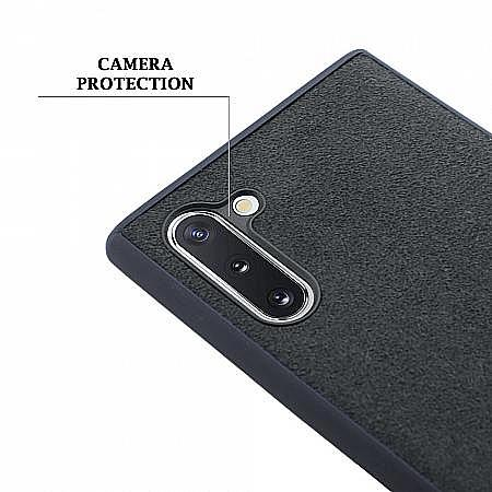 luxury quality hybrid alcantara Galaxy Note 10 protective case uk tpu shock absorbing cover